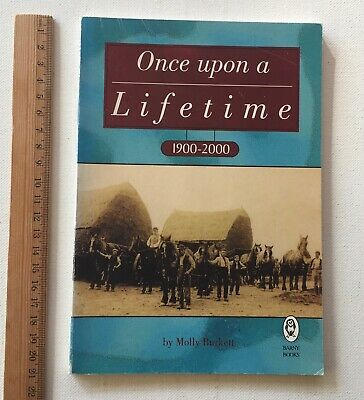 Once Upon a Lifetime 1900-2000 Molly Burkett True Story  Booklet