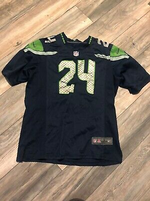 Hot SEATTLE SEAHAWKS NIKE Men's Marshawn Lynch Name & Number T Shirt  supplier