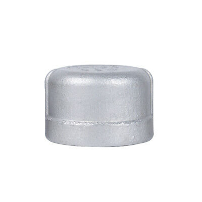 """304 Stainless Steel Cap, Female NPT, 1-1/4"""" Pipe Fitting"""