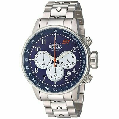 Invicta Men's S1 Rally 23080  Stainless Steel Blue Dial Chronograph  Watch