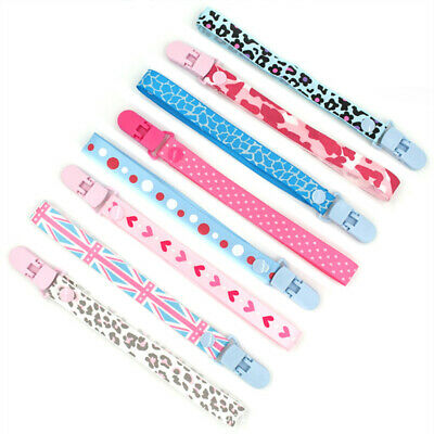 1X Baby Anti-lost Hot Clip Holder Dummy Pacifier Soother Nipple Strap Chain NEW