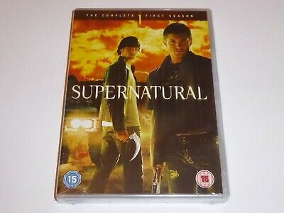 Supernatural - The Complete First Season 1 - NEW / SEALED UK DVD SET Series One