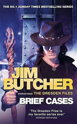 Brief Cases: The Dresden Files by Jim Butcher Paperback Book Free Shipping!