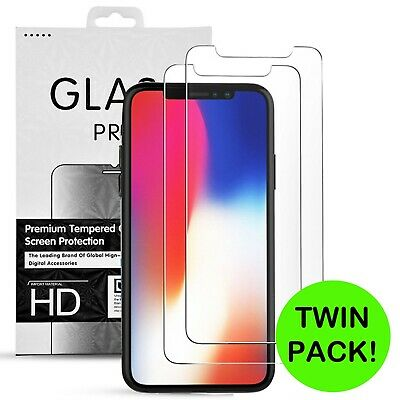 Genuine Tempered Glass Screen Protector for New iPhone XS Max XR XS X
