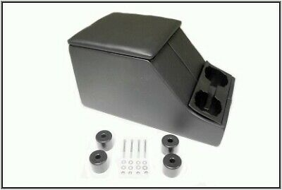 LAND ROVER DEFENDER CUBBY BOX CENTRE STORAGE with CUP HOLDER BLACK TERRAFIRMA