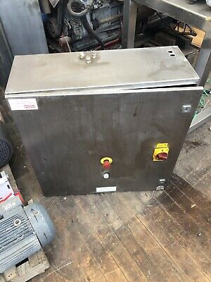 Rittal Stainless Steel Control Panel Cabinet Ex Brewery
