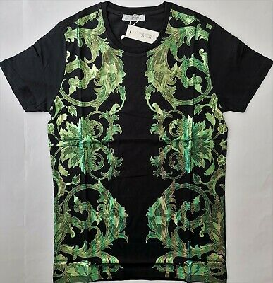3ef430e4 New VERSACE Men's T-Shirt Size M Medusa Head Italy Sculpture Gianni  Collection