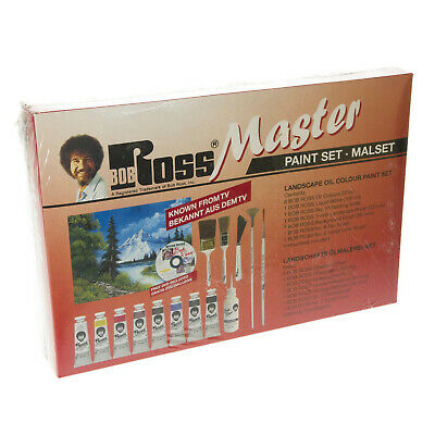 Bob Ross Master Landscape Painting Set - UK seller