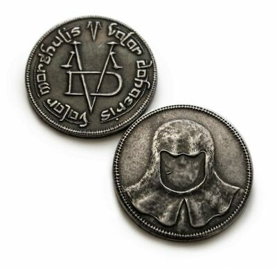 Game of Thrones The Pure Iron Collector Coin of the Faceless Man Valar Morghulis