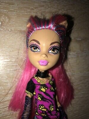 Pink Hair Outfit Monster High Doll Howleen Wolf Crepateria Perfect