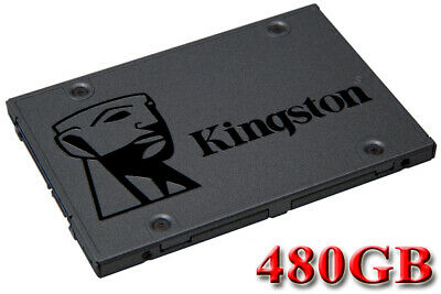 "Kingston A400 480GB 480G SSD Solid State Drive 2.5"" SATA III 3 6Gb/s 500MB/s"