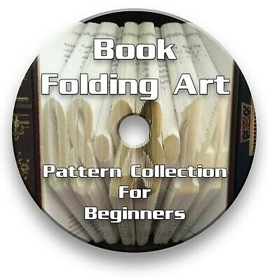 Book Folding Pdf Patterns For Beginners - Alphabet, Numbers & Heart - Download