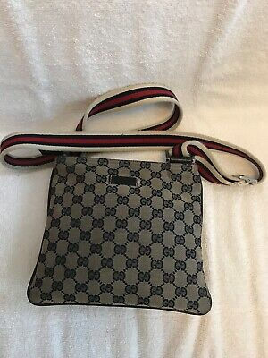 715251be0689 AUTHENTIC GUCCI FANNY Pack GG Brown Canvas Waist Belt Bag - $289.00 ...