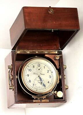 """A good 2-day marine chronometer by Thomas Mercer, St. Albans 29292 """"Working"""""""