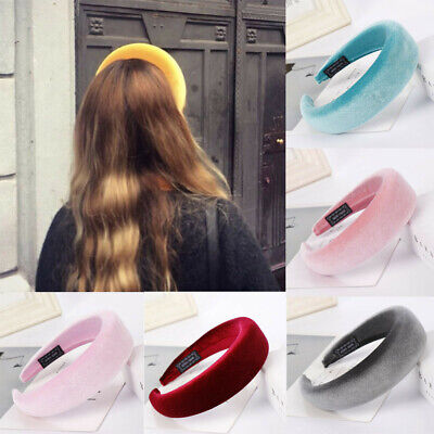 Girls Fashion Sponge Velvet Hairband Women Hair Head Hoop Sweet Hair Headband