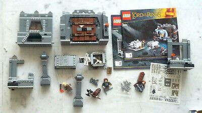 lego LORD of the RINGS réf. 9473 NOTICE TBE presque complet voir annonce