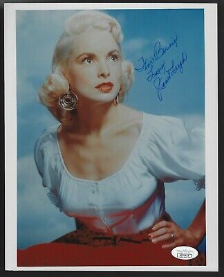 Janet Leigh Actress Signed Auto 8x10 Photo JSA Certified Autograph Personalized