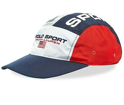 0976e579a Polo Ralph Lauren Polo Sport 5 Panel Limited ED Hat OS NWT Pwing Stadium  Crest