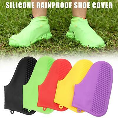 1 Pair Unisex Silicone Waterproof Shoes Cover Reusable Non-slip Rain Boot Tool