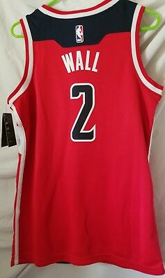 size 40 1834c b21ec NEW NIKE NBA Washington Wizards John Wall Swingman Jersey ...