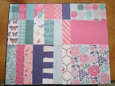 "SCRAPBOOKING PAPERS -6"" x 6"" - 24 sheets - DAYDREAMER"