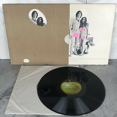 John Lennon And Yoko Ono Unfinished Music No.1: Two Virgins EX/NM- VINYL LP