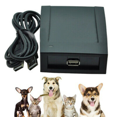 134.2Khz Low Frequency Animal Pet Dog Microchip Reader Writer FDX-A/FDX-B/T5577