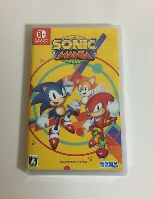 NEW Nintendo Switch SONIC MANIA PLUS JAPAN import Japanese game