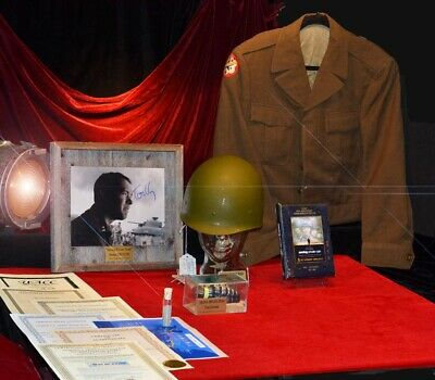 SAVING PRIVATE RYAN Signed TOM HANKS Autograph Prop HELMET Costume DVD COA MORE!