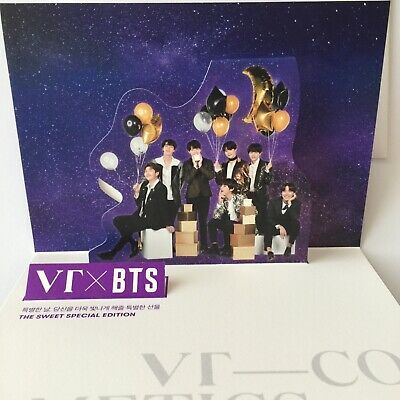 BTS VT Cosmetics Special edition pop up card Love yourself Speak yourself BT21