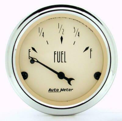 Auto Meter Gauge 2 Fuel Level 0 E/90 F Antique Retro AU1815