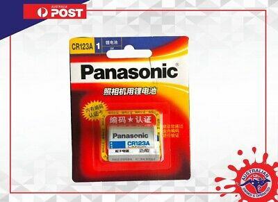 Panasonic CR123 CR123A CR17345 K123 16340 3V Lithium Camera Batteries EXP 01/28