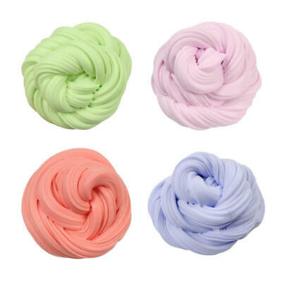 Fun Fluffy Floam Slime Putty Scented No Borax Stress Relief Kids Toy Play HJ