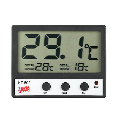 LCD Digital Fish Tank Aquarium Thermometer Water Temperature Meter °C/°F Y3N6