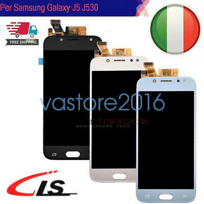 Display Lcd Touch Screen Per Samsung Galaxy J5 2017 J530F J530Schermo Vetro
