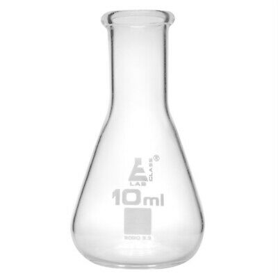 LabGlass Conical Flask Narrow Neck 10ml Pack of 12