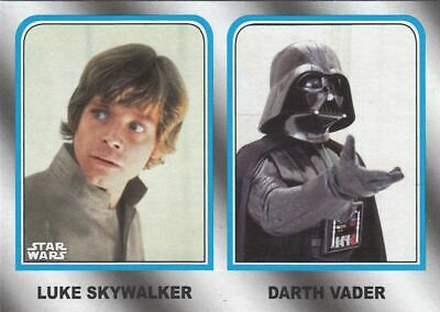 Topps Star Wars The Last Jedi Premium Trading Cards | Luke vs. Darth Vader  NEU