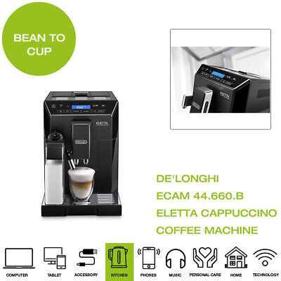 *Brand New* De'Longhi ECAM 44.660.B Eletta Cappuccino Coffee Machine, 1450W