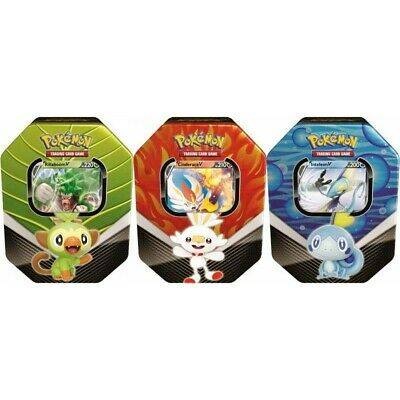 Pokemon TCG Hidden Fates Tin 3-Pack (Gyarados, Raichu & Charizard)