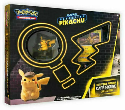 Pokemon Detective Pikachu Cafe Figure Collection Box In Stock!
