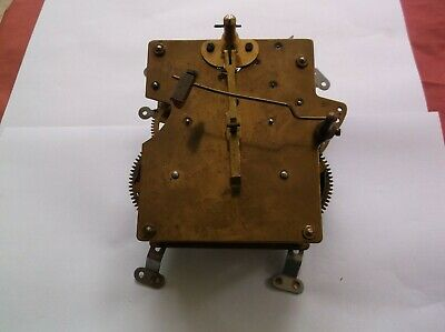 Mechanism  From An Old  Mantle Clock Spares/Repair Ref Ju1