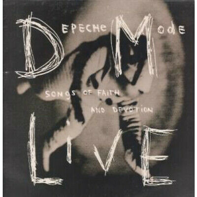 DEPECHE MODE Songs Of Faith And Devotion Live LP VINYL 10 Track Limited Editio