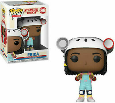 FUNKO POP! TELEVISION: Stranger Things - Erica Vinyl Figure W/ Pop Protector