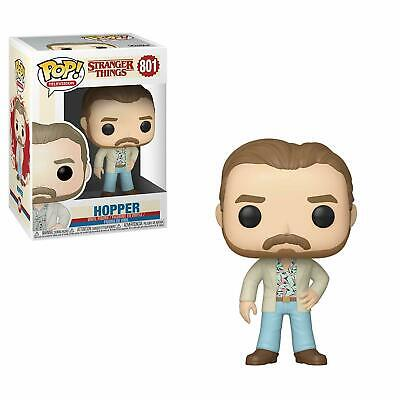 STRANGER THINGS 3 - HOPPER DATE NIGHT - FUNKO POP W/ Pop Protector