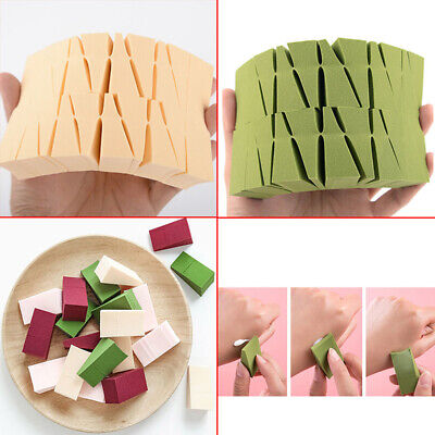 24pcs Makeup Foundation Triangle Sponge Face Cosmetic Puff Cosmetic Sponge Tool.
