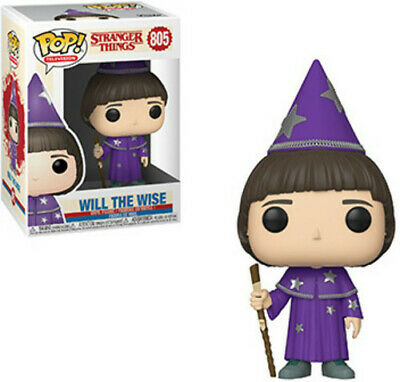 FUNKO POP! TELEVISION: Stranger Things - Will (The Wise) W/ POP Protector