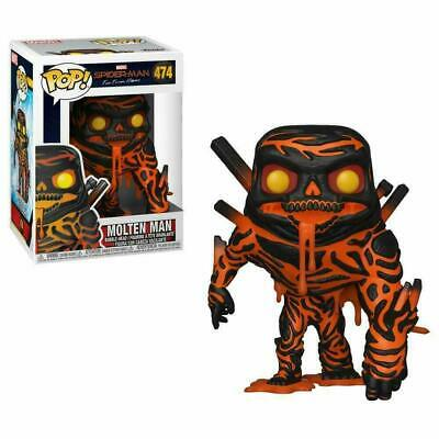 Funko Toys PoP Marvel Spider-Man Far from Home Molten Man #474 W/ POP Protector
