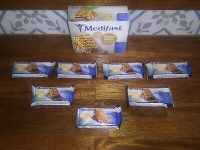 Medifast: Peanut Butter and Caramel Crunch Bars- 7 Pc -10/18/18-10/21/18
