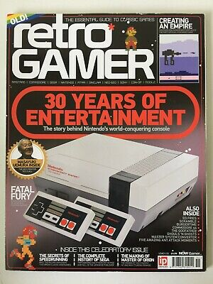 Retro Gamer Issue 155 : 30 YEARS OF THE NES / FATAL FURY / HISTORY OF SEGA +++