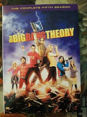 The Big Bang Theory: The Complete Fifth Season (DVD, 2012, 3-Disc Set) 5th 5